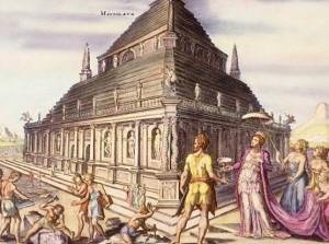 Мавзолей Мавсола, древние чудеса света