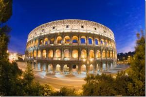 Римский Колизей,семь чудес света, чудеса света фото