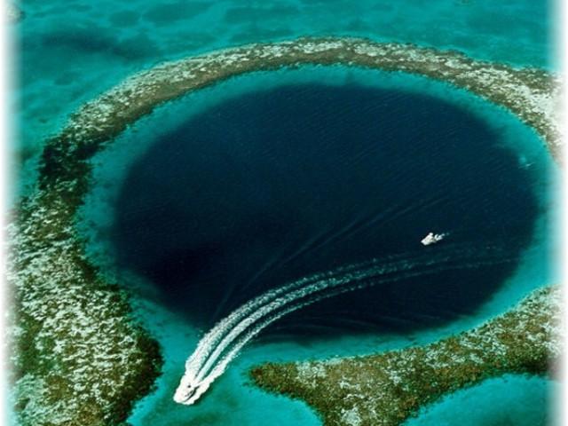 глубоководный мир, лучший дайвинг в Белизе, голубая дыра, подводные чудеса