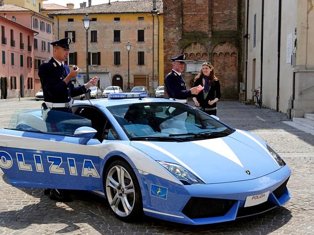 Дорожная полиция в Италии