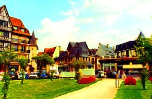 Города Франции, известные на весь мир,Довиль Нормандия Франция фото