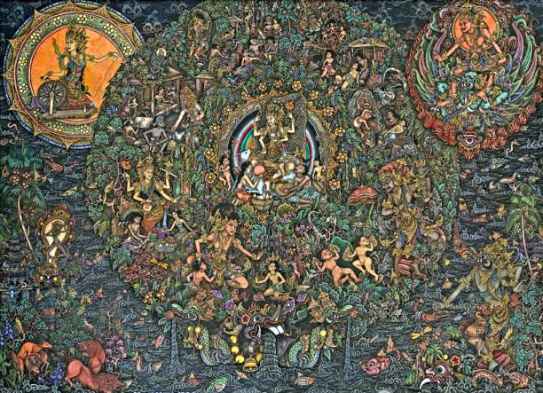 музей, году, Бали, острова, музея, художников, вклад, источником, местных, стал, время, очень, достопримечательность, Убуде, истории, страны, Статуя, изобразительного