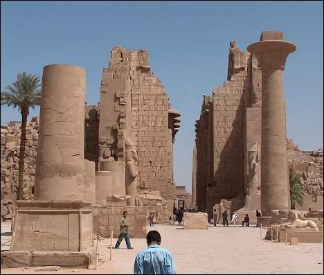 Карнакский храм, фото Египта, Карнак видео