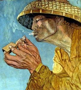 табака, Бали, Индонезии, табак, поскольку, курить, сигареты, сигарет, гвоздики, практически, больше, очень, количество, оленей, настоящий, Индонезийцы, нужно, дает