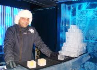 Ледяной бар в Стамбуле
