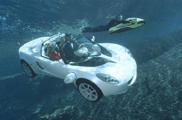 Подводный автомобиль фото