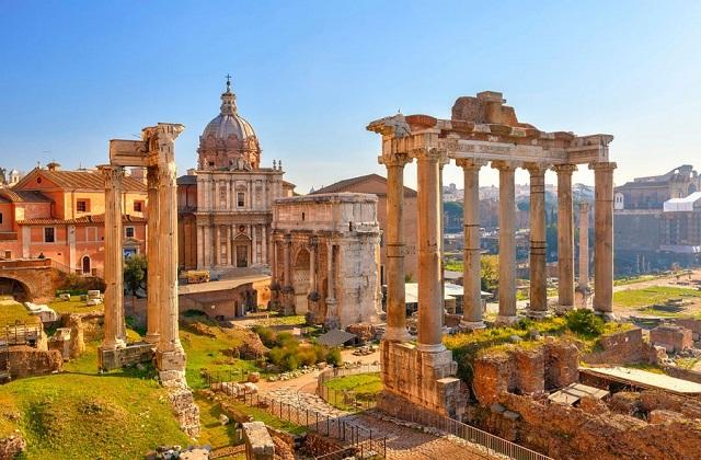 Римский форум фото