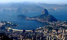 рио, жанейро, христа, гуанабара, статуя, гора, большой, бухта, является, корковадо, атлантическим, мир, города, океаном, залив, года, бухты, пляжи