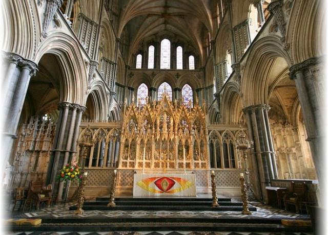 Соборы англии, достопримечательности кембриджа, готика англия