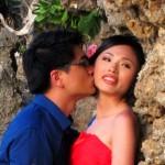 Свадьба на берегу океана острова Бали