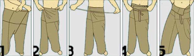 Тайские штаны, приколы Тайланда, одежда в Тайланде
