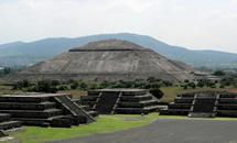 Теотиуакан фото, пирамиды теотиуакана, теотиуакан на карте,рукотворные чудеса,ацтеки и майя,чудеса света