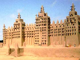 чудо город,Тимбукту на карте, бухта тимбукту,где находится тимбукту,знаменитые строения Африки,тимбукту фото