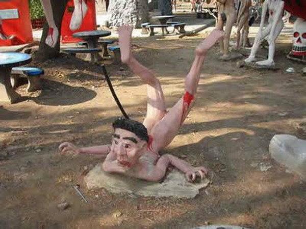 Парк смерти, ад на земле, долина смерти, посмотреть бангкок