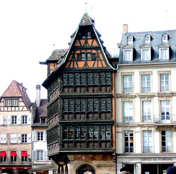 дом Каммерцеля в страсбурге