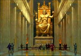 Статуя Зевса, древние чудеса света, фото